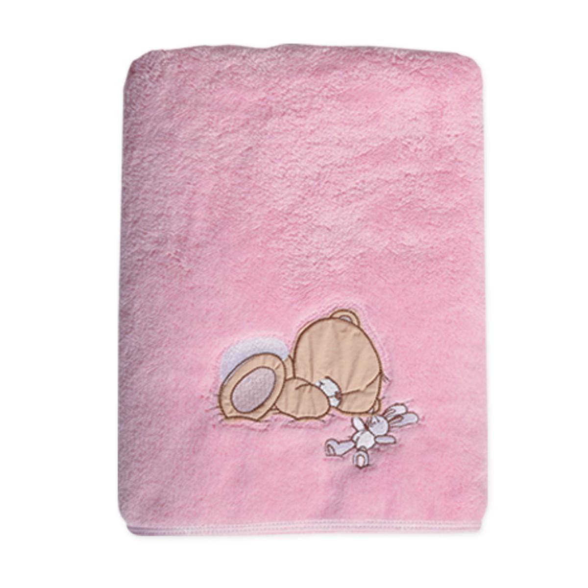 Κουβέρτα Fleece Κούνιας Nef-Nef Baby FF Forever Sleepy